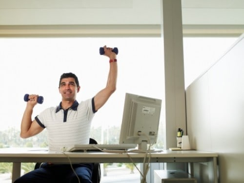 It 39 S Time To Deskercise With Workouts You Can Attempt In Your Cubicle