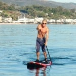 mark sisson - paddle boarding