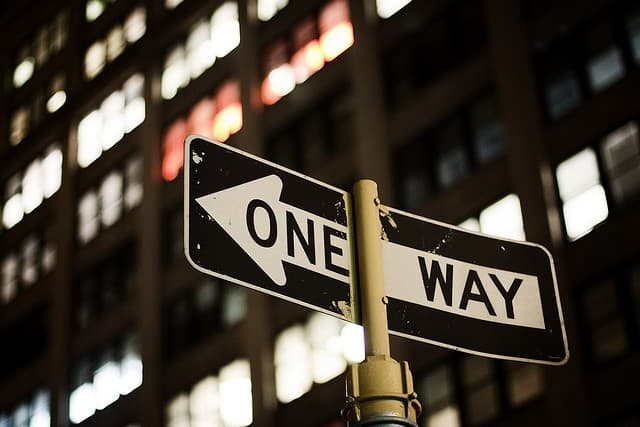 one way - take control of your life