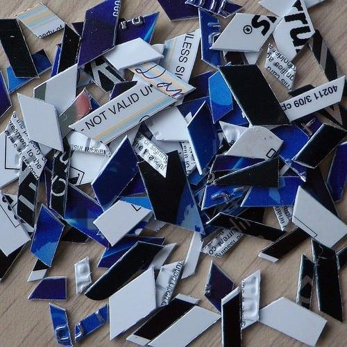 Destroyed cards
