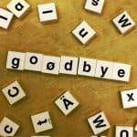 how to break up - goodbye