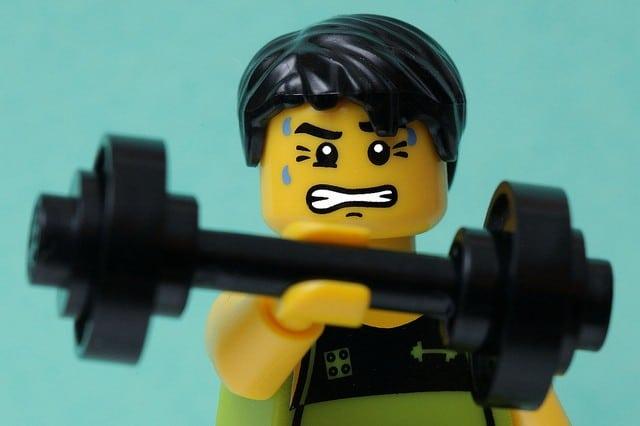 weight lifting injury