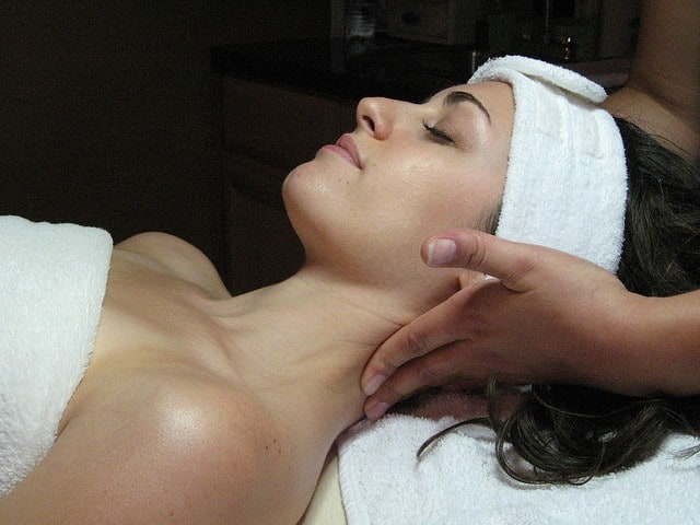 aromatherapy - massage