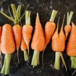 plant based foods - carrots