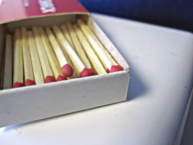 survival kit - matches
