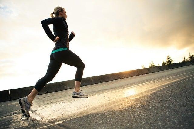 resolution - woman running