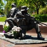 chris kyle navy seal statue