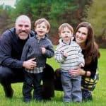 tim holmes - family
