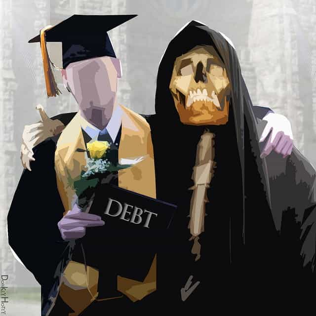 college isn't for everyone - college debt