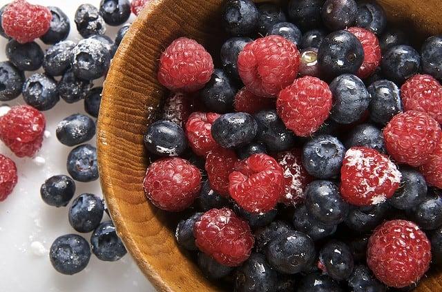 healthy eating - berries