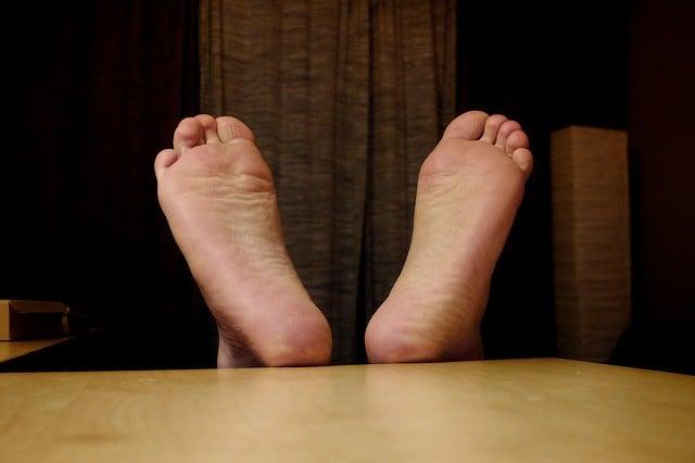 self massage - feet