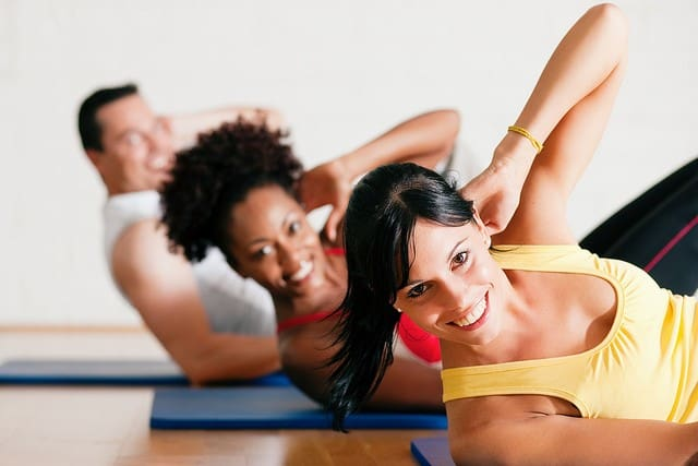 healthy living tips - sit-ups