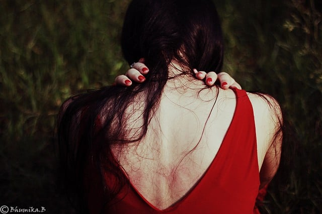 heartache - woman sad