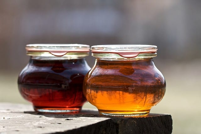 natural sweeteners - maple syrup