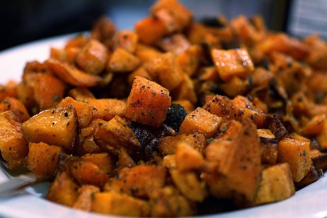 fall foods - sweet potatoes