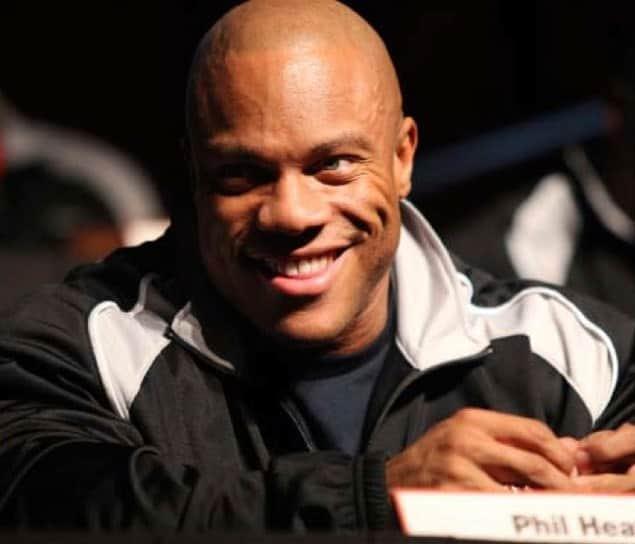 phil heath smiling