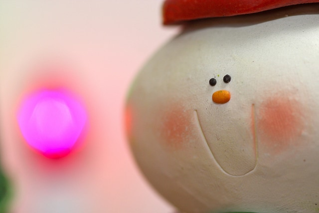 holiday stress - snowman