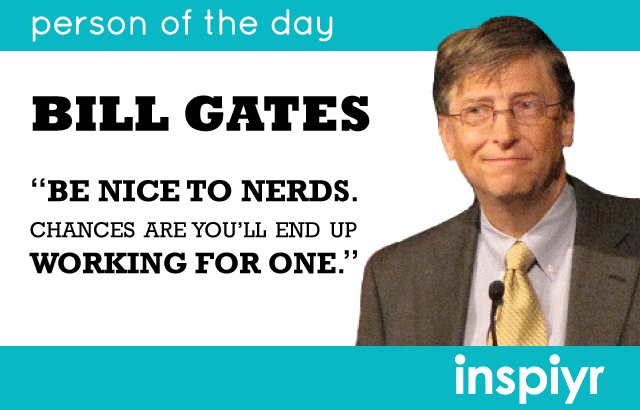 Bill gates passion for computers started with
