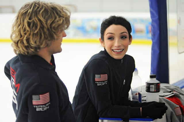 olympic athletes - meryl davis charlie white