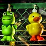 personal skincare products - frog and duck