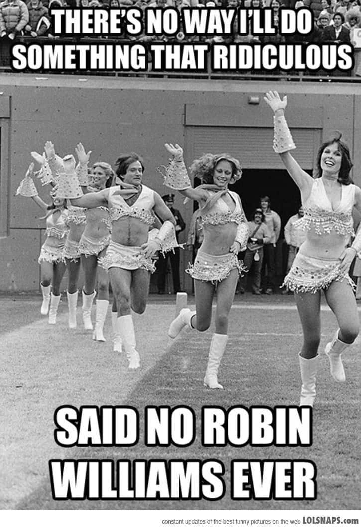 robin - cheerleader