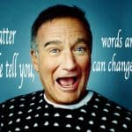 robin williams - words