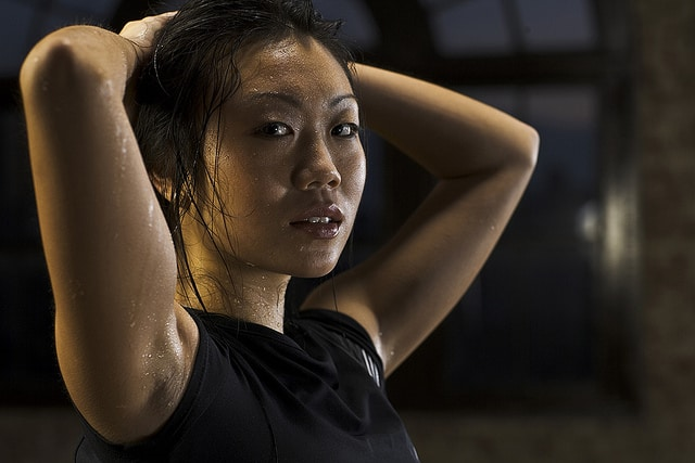 Women's fitness photo by Monte Isom