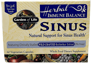 garden of life sinus