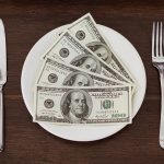 money greenbacks dinner