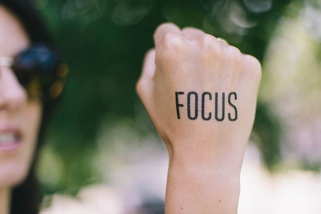 focus for time management