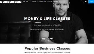 What Are The CreativeLive Money & Life Classes All About?