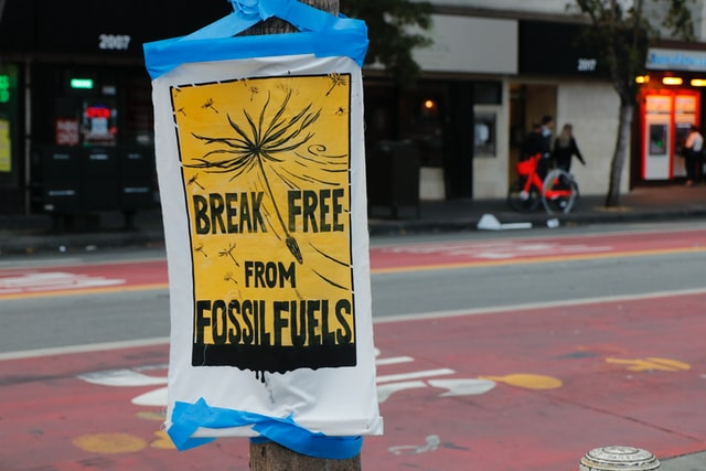 Break free from fossil fuels and save the planet