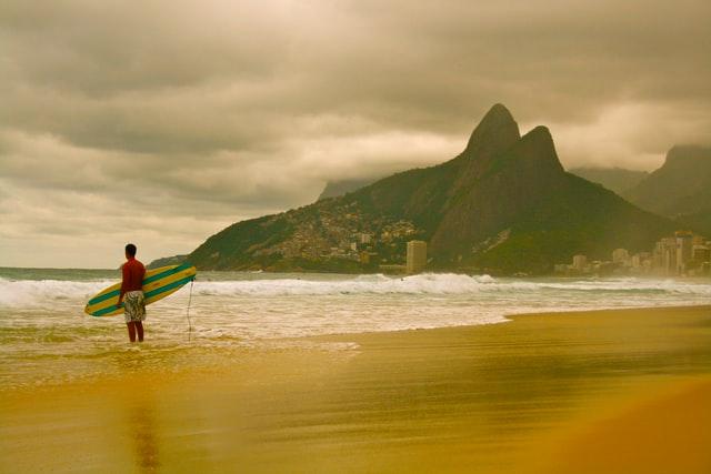 Ipanema brazil beautiful beaches
