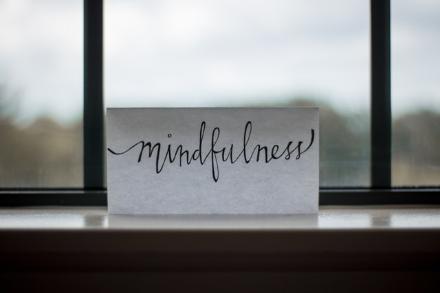 mindfulness can calm our fears